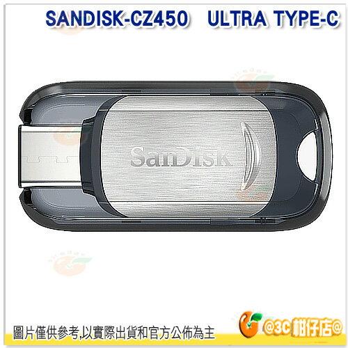 免運 Sandisk CZ450 16G 16GB ULTRA type C USB 3.1 隨身碟 公司貨