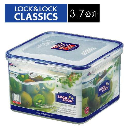 🌟現貨🌟HPL858D樂扣樂扣PP保鮮盒3.7L/附濾片/樂扣保鮮盒 正方形保鮮盒