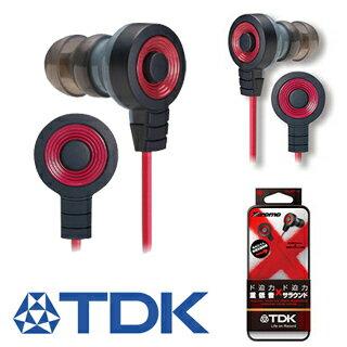 【集雅社】降價優惠 TDK CLEF- X TH-EC300 重低音耳塞式耳機.全館免運費