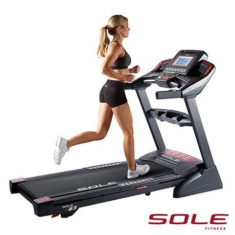 SOLE F63 索爾 電動跑步機∣經典暢銷款∣勁能黑