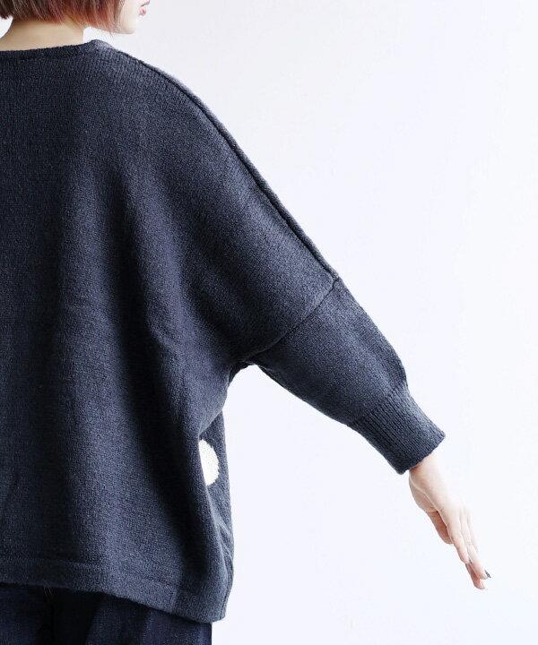 日本 e-zakkamania  /  秋冬可愛點點針織毛衣  /  32603-2000289  /  日本必買 日本樂天直送  /  件件含運 7