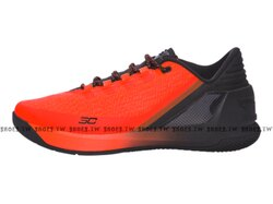 《下殺5折》Shoestw【1286376-296】UNDER ARMOUR CURRY 3 LOW UA 籃球鞋 低筒 火焰紅黑 男生