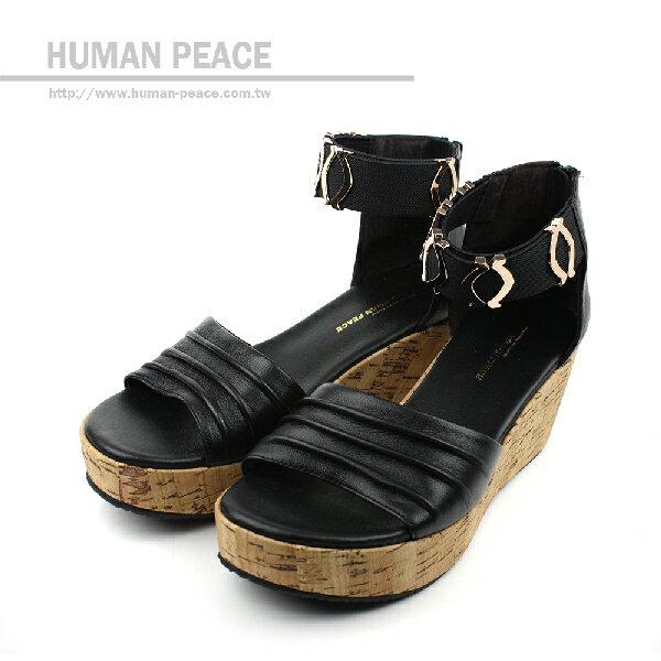 HUMAN PEACE 涼鞋 黑 女款 no189