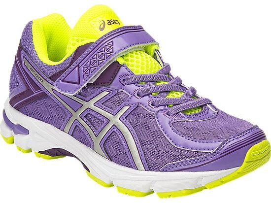[陽光樂活]ASICS 亞瑟士 GT 1000 4 PS 女童 慢跑鞋 運動鞋 黏貼式 魔鬼氈-C556N-3593