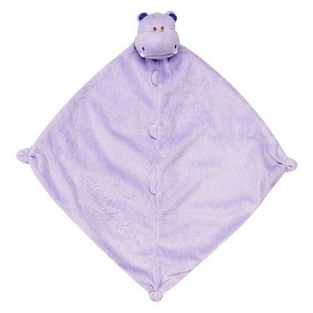 『121婦嬰用品館』美國Angel Dear 動物嬰兒安撫巾 河馬(紫)AD1138(此商品售出不做退換) 0