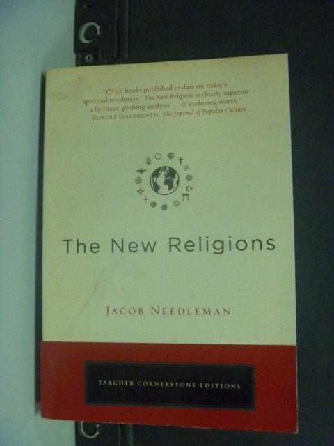 【書寶二手書T3/宗教_KHA】The New Religions_Needleman, Jacob
