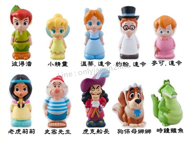 【真愛日本】樂園限定彼得潘世界指偶  共十款  迪士尼 樂園限定 小精靈  小飛俠 彼得潘   預購