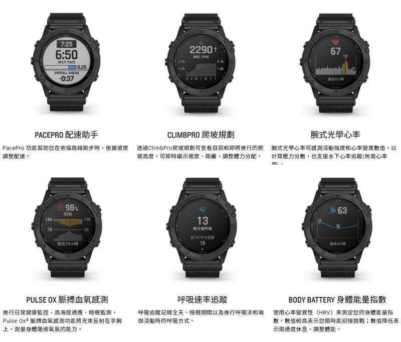 【中壢NOVA-水世界】GARMIN tactix Delta Solar 太陽能複合式戰術 GPS腕錶 軍規 公司貨