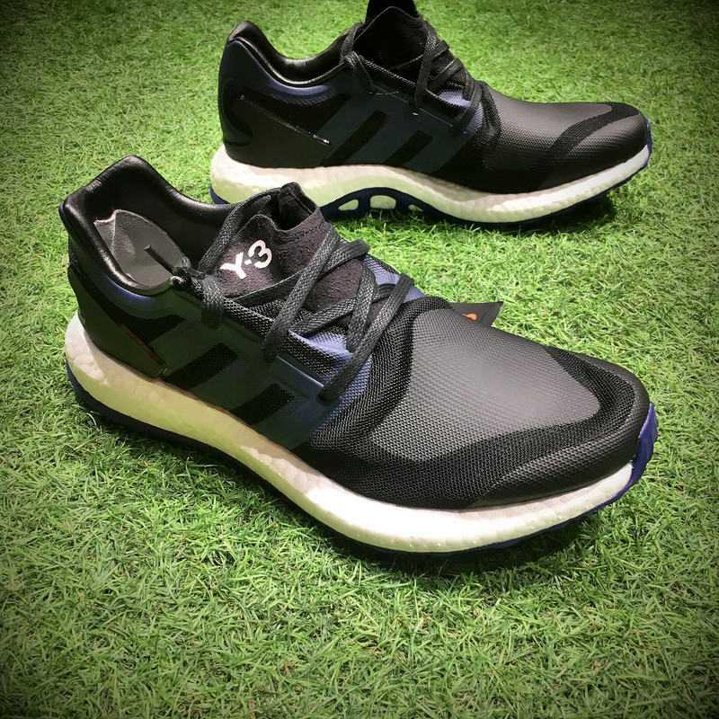 """adidas Y-3 Pure knit boost """"黑藍武士 男款"""