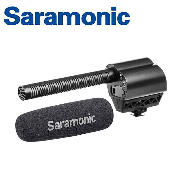 ◎相機專家◎Saramonic超心形指向電容麥克風Vmic廣播級單眼相機專用公司貨
