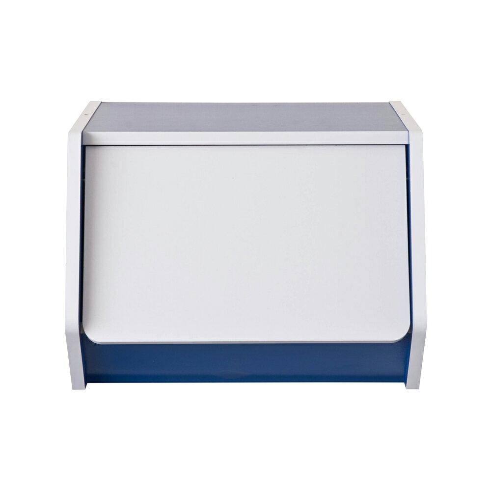 門櫃 / 書櫃 / 整理櫃 TZUMii 艾莉絲掀門櫃-藍色 0