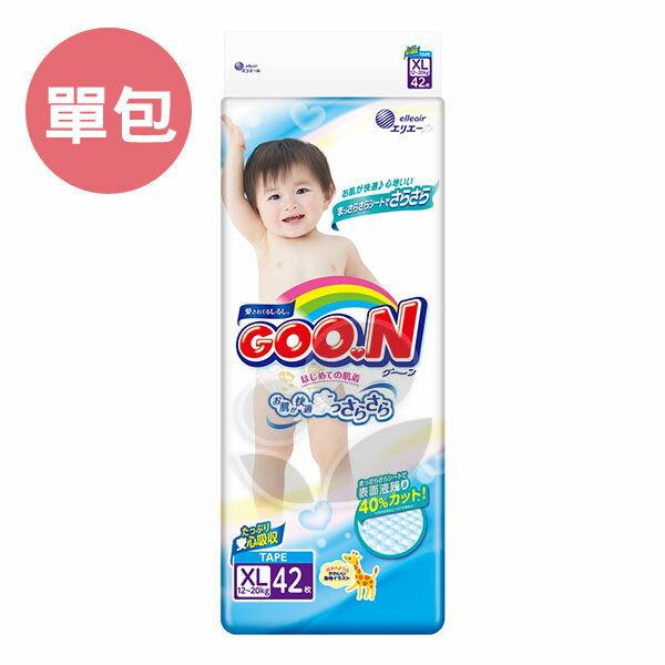 GOO.N 日本大王 頂級境內版紙尿褲XL (單包)【產地日本】【悅兒園婦幼生活館】