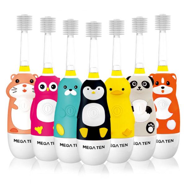 日本 Mega Ten 幼童電動牙刷-頂級款 (7款可選)