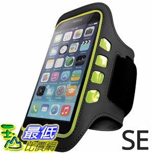 [106美國直購] iPhone 手臂帶含LED燈 Iphone SE Armband Best for Running, Sports and Workout LED Lights