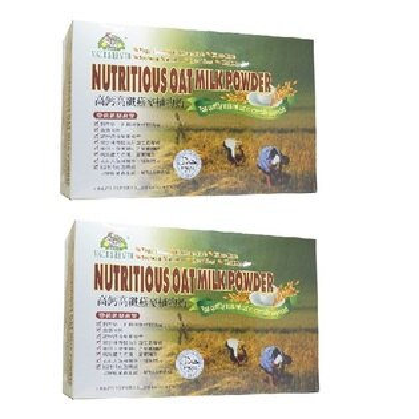 (有機廚坊)高鈣高纖燕麥植物奶25公克包×32包*2盒--年節送禮袋組-熱賣中