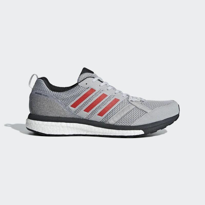adidas 愛迪達 男款 Adizero Tempo 9 彈力避震的穩定跑鞋