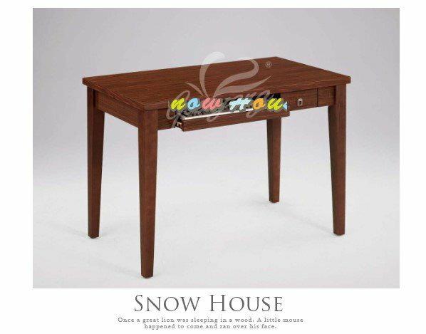 ╭☆雪之屋居家生活館☆╯AA036-07順利胡桃電腦桌(336/一抽一鍵)工作桌/ 書桌
