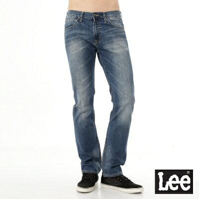 Lee 牛仔褲 Main line 724 中腰標準直筒-男款(中漂藍) 0