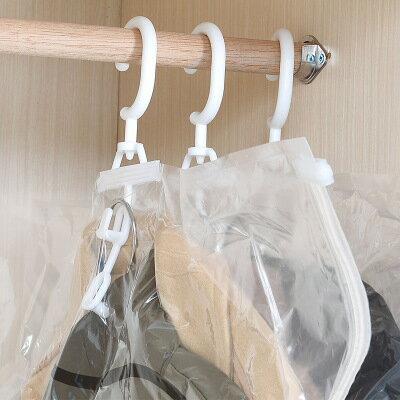 【iWork】真空壓縮掛袋 壓縮袋西裝大衣防塵袋 衣櫃掛袋 櫥櫃防塵袋 防塵壓縮衣物掛袋 防塵袋 側拉 外套 羽絨 收納 3
