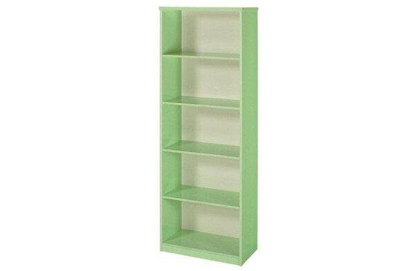 【石川家居】936-11綠色書櫃(CT-906)#訂製預購款式#環保塑鋼P無毒防霉易清潔