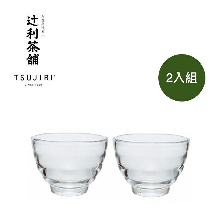 【辻利茶舗 x HARIO】耐熱湯吞小茶杯2入組。高品質耐熱玻璃製成,可耐熱120度。冷熱飲皆可使用,亦適用於烤箱與微波爐。原廠公司貨。 0