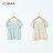 【CUMAR】休閒典雅印花-襯衫(二色) 4