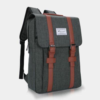 LINAGI里奈子 ~K905~63~89~簡約雙磁釦內筆電袋大物件袋可手提雙向拉鍊舒適方