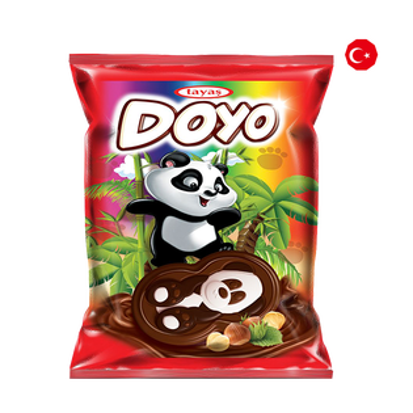 【TAYAS塔雅思】貓熊造型巧克力餅乾盒裝(960g40gx24入)