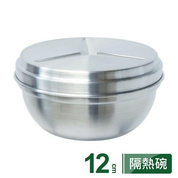 PERFECT極緻316不銹鋼雙層碗12cm【附蓋可當菜層】台灣製造醫療級不鏽鋼隔熱碗 便當盒兒童碗