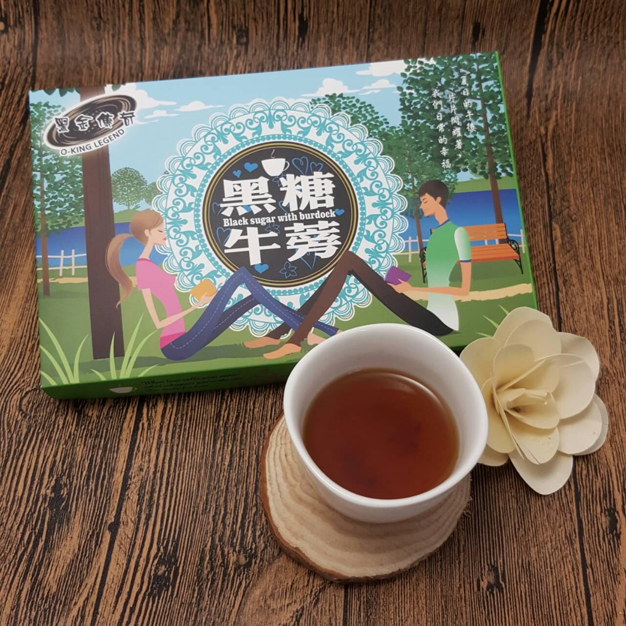 黑糖牛蒡茶(禮盒)大顆淨重210G