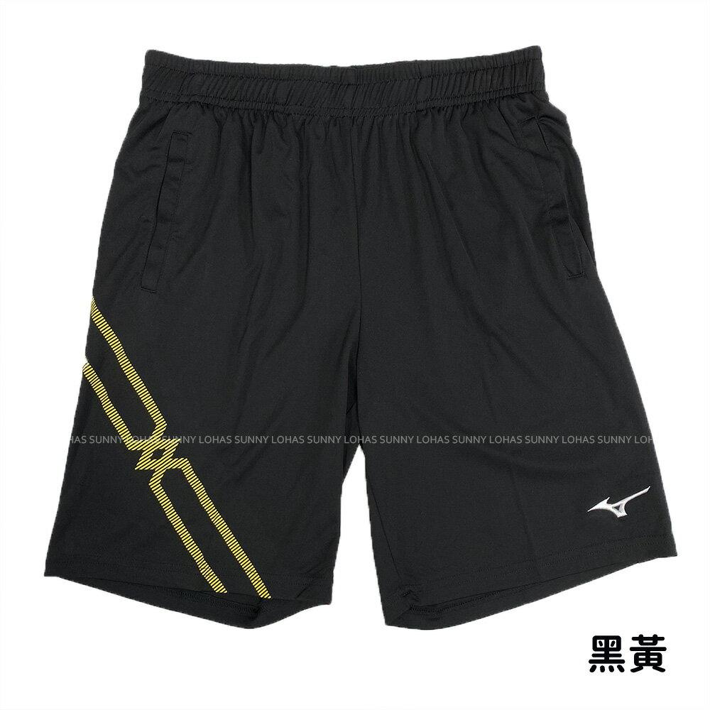 MIZUNO 美津濃 男生 針織運動短褲 羽球褲 台灣製 吸汗快乾 72TB0A16 [陽光樂活](C4)