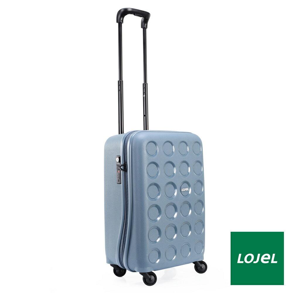 【日本 LOJEL】日本設計 19.5吋 鋼藍色 PP VITA 拉鍊(登機 行李箱 / 旅行箱)