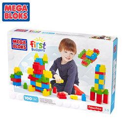 MEGA BLOKS 美高100片盒裝積木組
