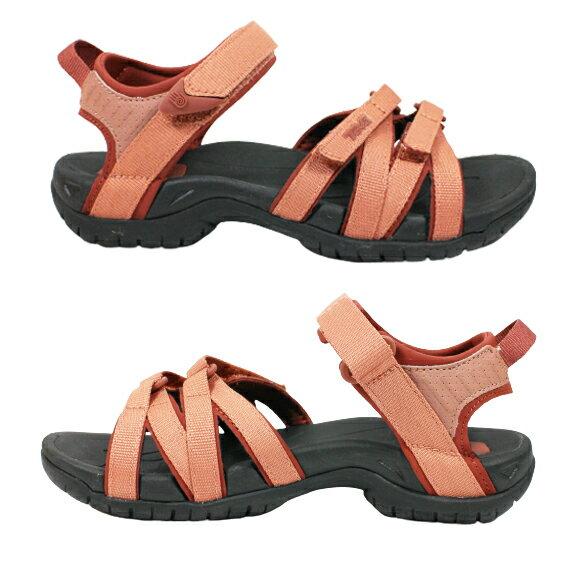 [陽光樂活](C5)TEVA Tirra 女 水陸兩用鞋 運動涼鞋 雨鞋 水鞋 耐磨蜘蛛大底 TV4266ARGN 磚紅