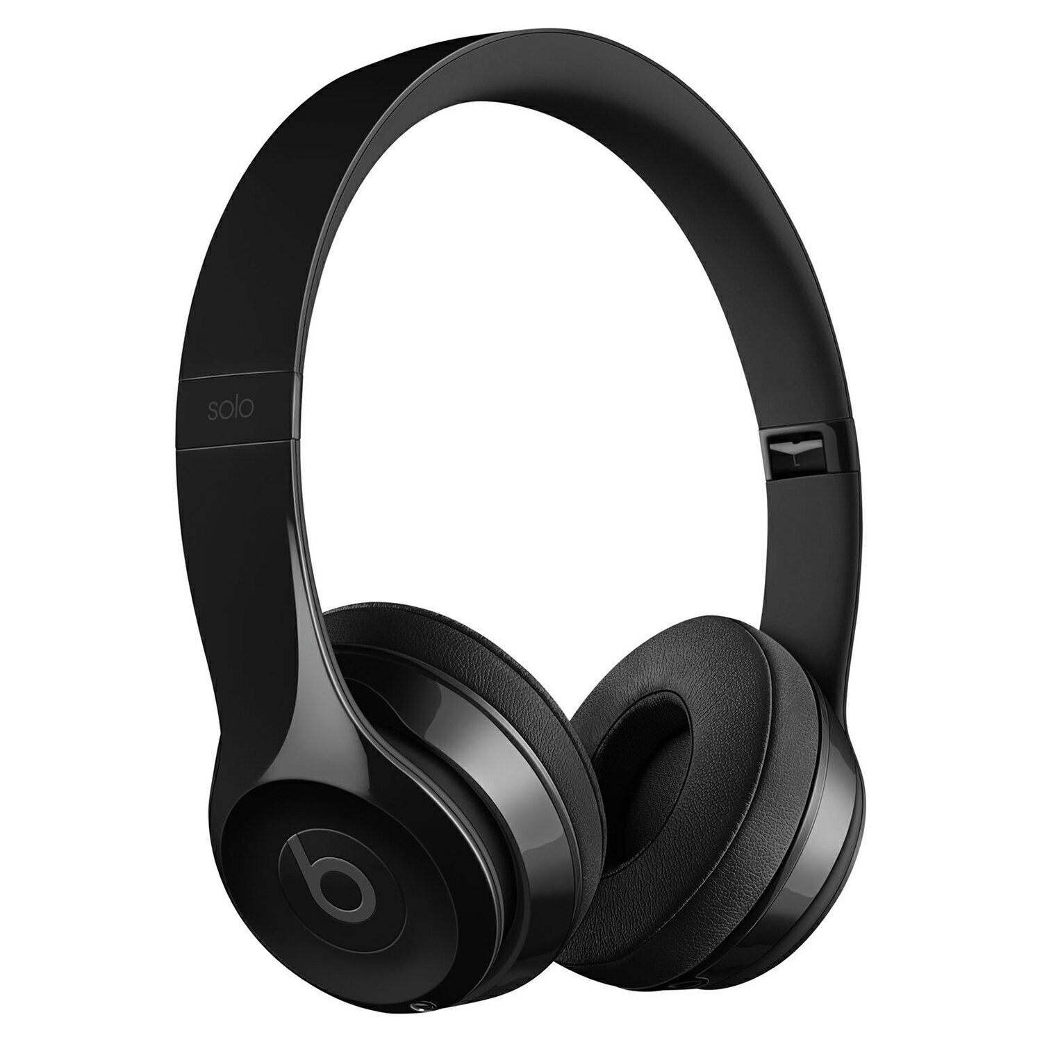 Beats by Dr Dre Solo 3 Wireless Bluetooth On-Ear Stereo Headphones Glossy Black 0