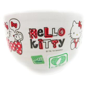 【真愛日本】15091900001日式湯碗-紅 三麗鷗 Hello Kitty 凱蒂貓 湯碗 飯碗 小碗 正品