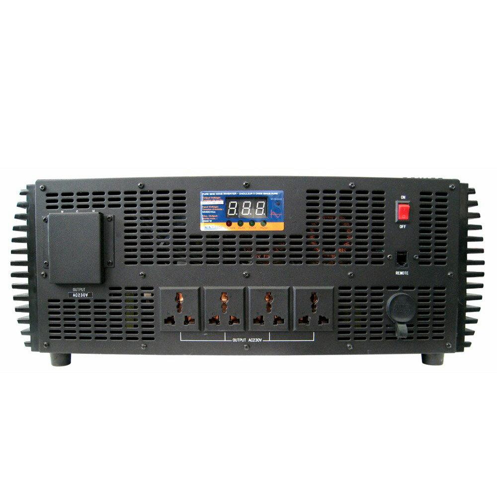D&J ★ 12V轉220V純正弦波4500W電源轉換器(UP-8C2V)