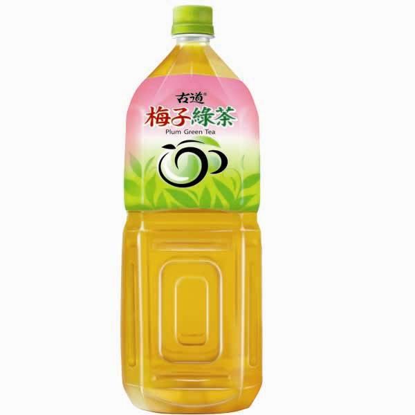 古道 梅子綠茶 2000ml【康鄰超市】