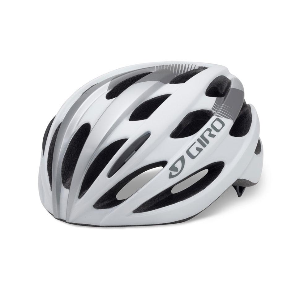 【7號公園自行車】GIRO Trinity 自行車安全帽 (白/銀)