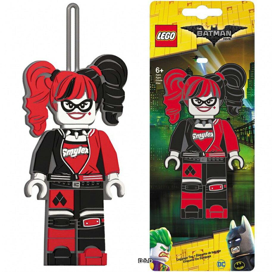 【 樂高積木 LEGO 】 樂高蝙蝠俠電影-小丑女行李吊牌