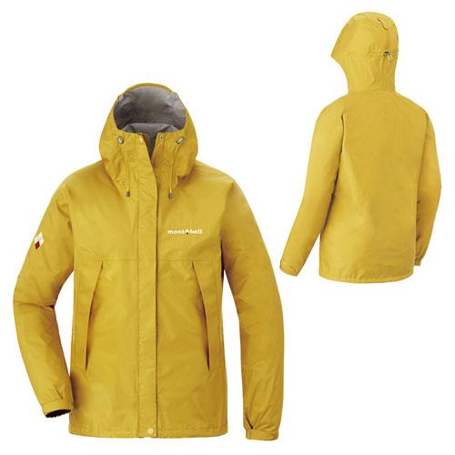 【【蘋果戶外】】mont-bell 1128601 黃 日本 女 防水透氣外套 類Gore-tex 防水外套 雨衣 風衣 風雨衣