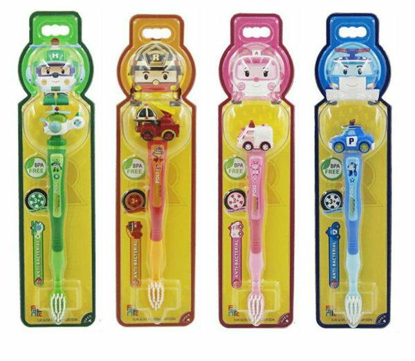 POLI波力立體兒童牙刷3歲以上4種可選◆德瑞健康家◆