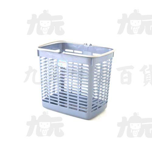 【九元生活百貨】聯府F777銀采特大洗衣籃置物籃
