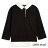 Little moni 學院風假兩件上衣-黑色(好窩生活節) - 限時優惠好康折扣