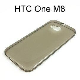 超薄透明軟殼  透灰  HTC One M8