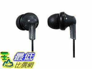 [106美國直購] 耳機 Panasonic RP-HJE120-PPK In-Ear Headphone, Black