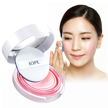 韓國 IOPE 水潤光感舒芙蕾粉凝乳氣墊腮紅 9g 修容【N201887】