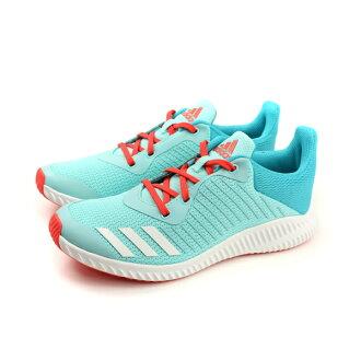 adidas FortaRun K 慢跑鞋 運動鞋 網布 淺藍色 大童 BY9004 no485