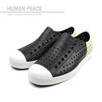 native 輕量懶人鞋、休閒防水鞋到native JEFFERSON BLOCK 洞洞鞋 黑 男女款 no421
