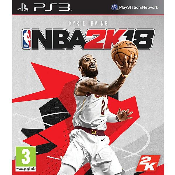 PS3NBA2K18-中文版-美國職業籃球NBA2K182018